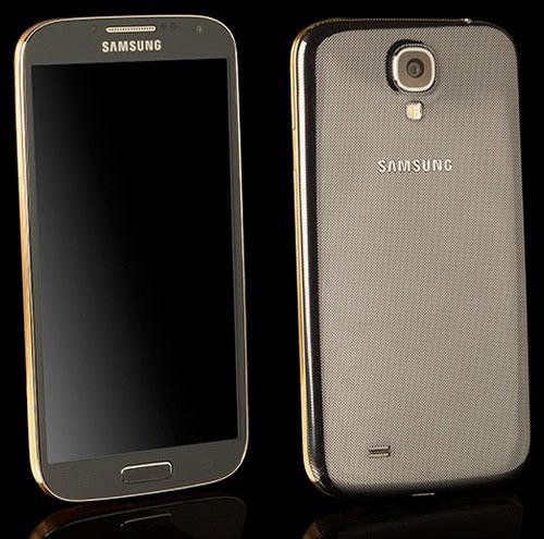 Galaxy S4 mạ vàng đầu tiên trên thế giới - 4