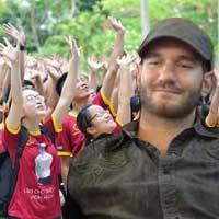Nick Vujicic đã có mặt tại Việt Nam