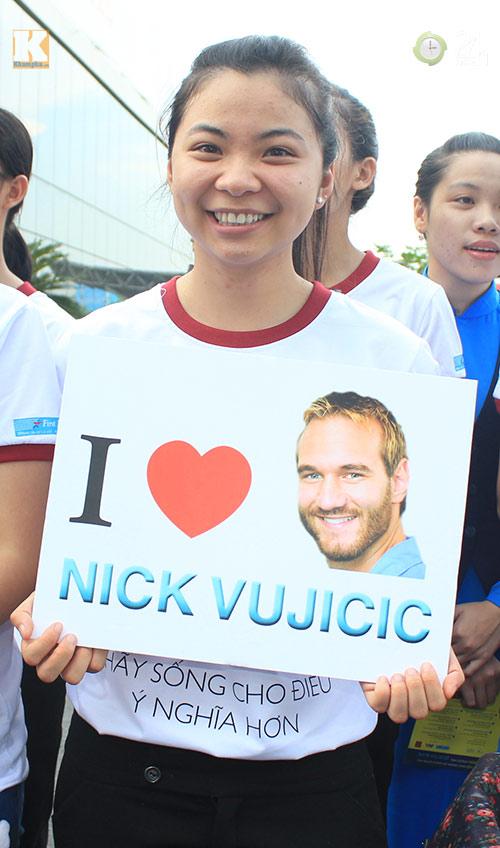 Nick Vujicic trong vòng vây fan Việt - 5