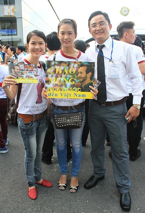 Nick Vujicic trong vòng vây fan Việt - 4