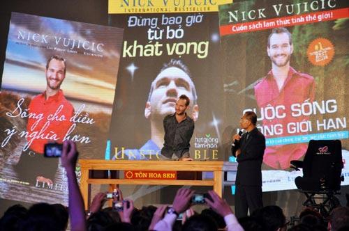 Nick Vujicic chào Việt Nam - 5