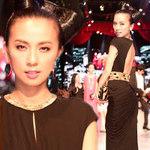 Ngôi sao điện ảnh - Huyền Ny lại gây choáng với váy 150 triệu