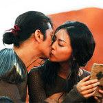 """Phim - Dustin Nguyễn """"khóa môi"""" Vân Ngô say đắm"""