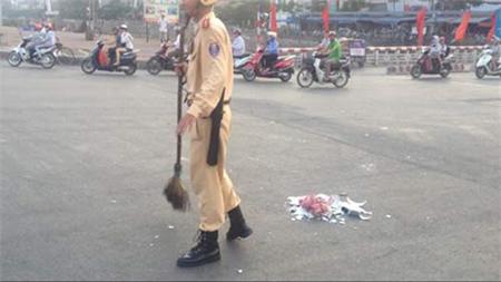 10 hình ảnh vui về cảnh sát giao thông - 3