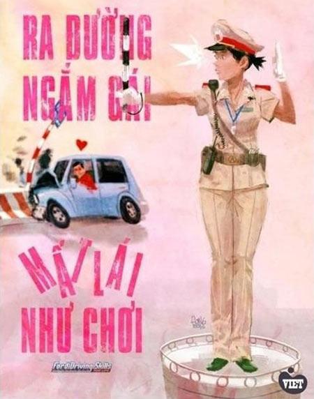 10 hình ảnh vui về cảnh sát giao thông - 6
