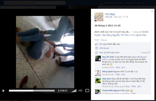 Sốc: Video làm nhục nữ sinh ở Phú Thọ - 2