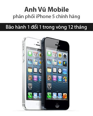 iPhone 5 chính hãng bảo hành 1 đổi 1 tại Anh Vũ - 2