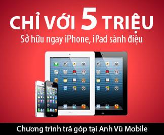 iPhone 5 chính hãng bảo hành 1 đổi 1 tại Anh Vũ - 1