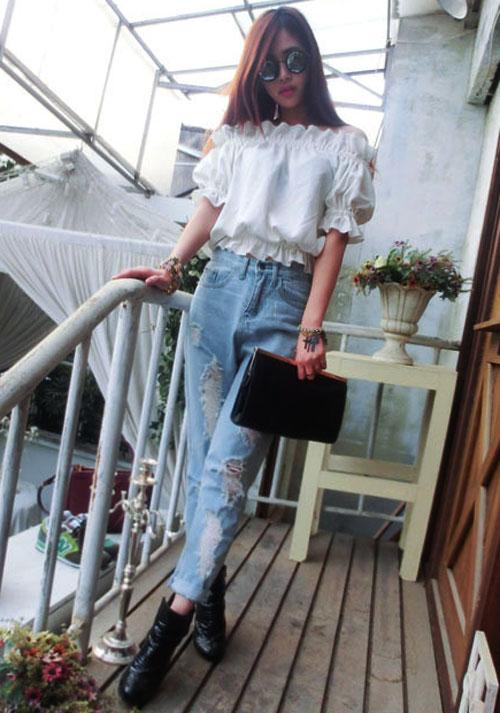 Trải nghiệm thú vị với jeans!, Thời trang, jeans, thoi trang jeans, ao jeans, quần jeans, vay jeans, thoi trang, thoi trang tre