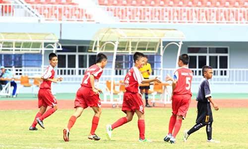 U14 Việt Nam hạ đẹp U14 Myanmar - 1