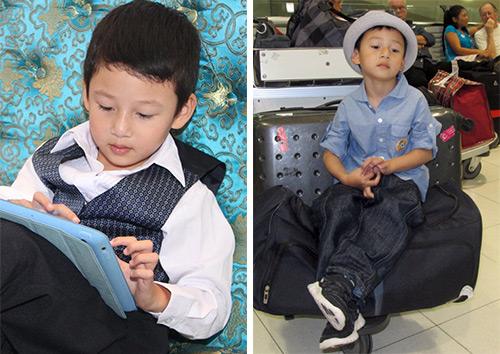 Những nhóc tì nổi tiếng của sao Việt - 7