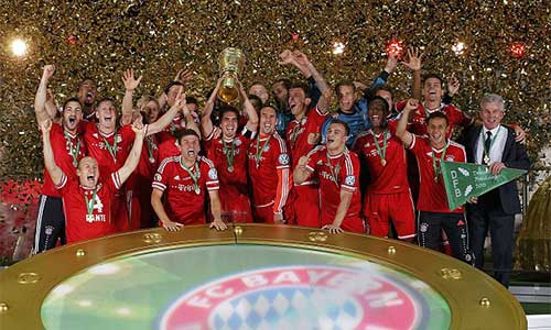 Bayern: Cú ăn 3 vĩ đại - 1