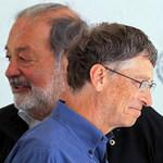 Tài chính - Bất động sản - Bill Gates ngày càng vượt xa Carlos Slim