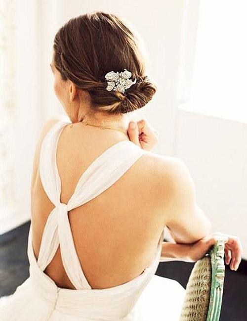 Tóc cưới sang trọng cho mùa hè - 13