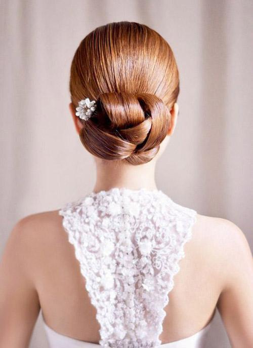 Tóc cưới sang trọng cho mùa hè - 15