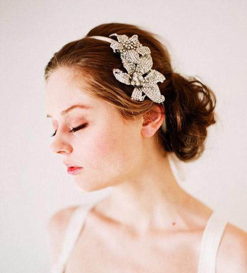 Tóc cưới sang trọng cho mùa hè - 3