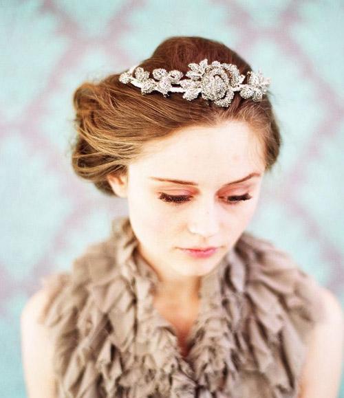 Tóc cưới sang trọng cho mùa hè - 4