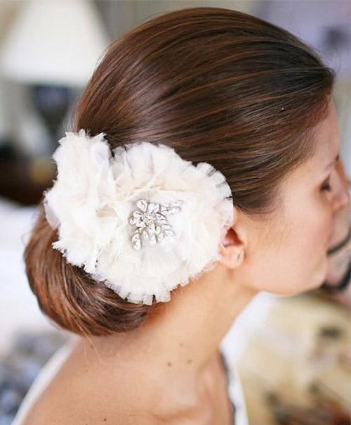 Tóc cưới sang trọng cho mùa hè - 9