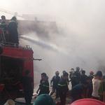 Tin tức trong ngày - Cận cảnh vụ cháy kinh hoàng ở cây xăng