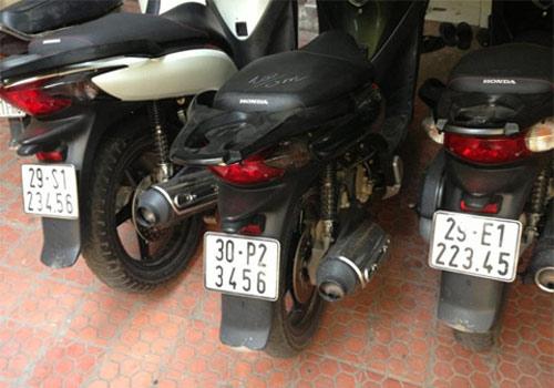 Ô tô-Xe máy - Biển số xe máy tiền triệu của Hà Nội (Hình 2).