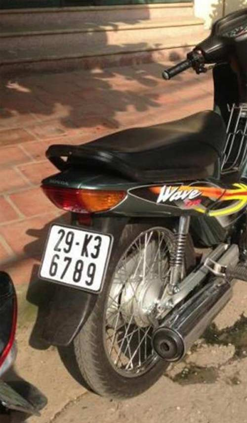 Ô tô-Xe máy - Biển số xe máy tiền triệu của Hà Nội (Hình 4).