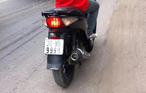 Ô tô-Xe máy - Biển số xe máy tiền triệu của Hà Nội (Hình 5).