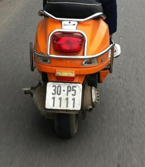 Ô tô-Xe máy - Biển số xe máy tiền triệu của Hà Nội (Hình 8).