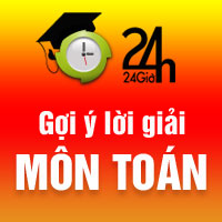 Đáp án môn Toán tốt nghiệp THPT