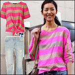 Thời trang - Mix đồ dạo phố đẹp như siêu mẫu Liu Wen