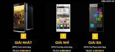 Đến XDA Mobile, nhận điện thoại Oppo miễn phí - 2