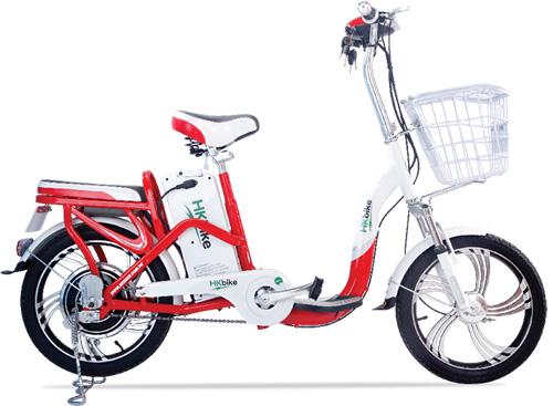 Xe đạp điện HKbike thiết kế ấn tượng - 1