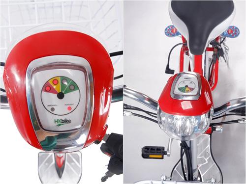 Xe đạp điện HKbike thiết kế ấn tượng - 4