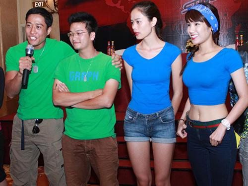 """Sao Việt """"liều mạng"""" thi truyền hình thực tế - 11"""