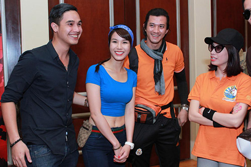 """Sao Việt """"liều mạng"""" thi truyền hình thực tế - 13"""