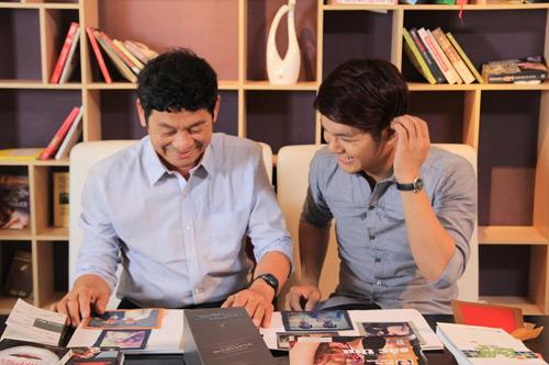 Đinh Hương, Ngọc Minh đưa cha vào clip, Ca nhạc - MTV, Dinh Huong, Son Ngoc Minh, Vmusic, Cam on cha, MV, ngay cua cha, bo me, ngoi sao, tin tuc
