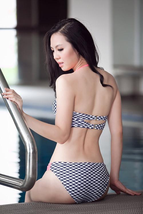 Trà Giang hiến kế chọn bikini đi biển - 3
