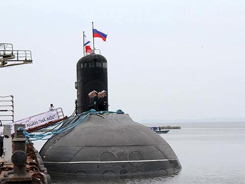 Hoàn tất thử nghiệm tàu ngầm Hà Nội - 1