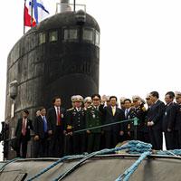 Hoàn tất thử nghiệm tàu ngầm Hà Nội