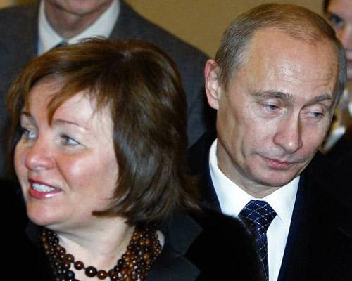 """""""Thâm cung bí sử"""" vợ chồng Putin - 2"""