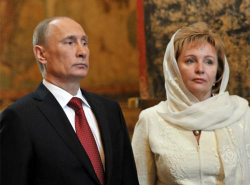 """""""Thâm cung bí sử"""" vợ chồng Putin - 3"""