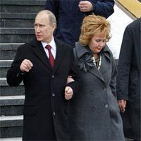 """""""Thâm cung bí sử"""" vợ chồng Putin"""