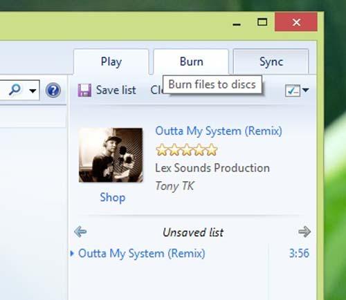 Hướng dẫn ghi CD Audio trong Windows 8 - 3