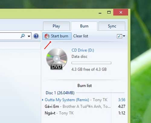Hướng dẫn ghi CD Audio trong Windows 8 - 6