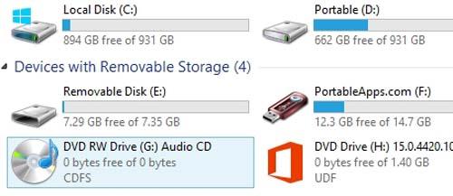Hướng dẫn ghi CD Audio trong Windows 8 - 7