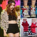 Thời trang - Mỹ nữ Hàn sành điệu với giầy thể thao