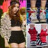 Mỹ nữ Hàn sành điệu với giầy thể thao