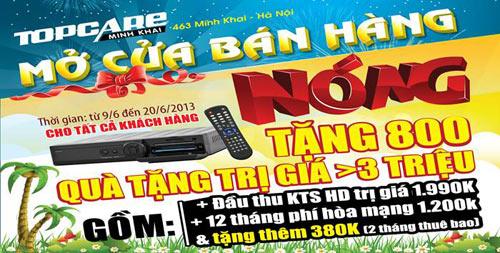Topcare Minh Khai khuyến mãi lớn cho ngày mở cửa đầu tiên - 1