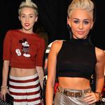 Thời trang - Miley Cyrus khoe bụng 6 múi chất lượng!