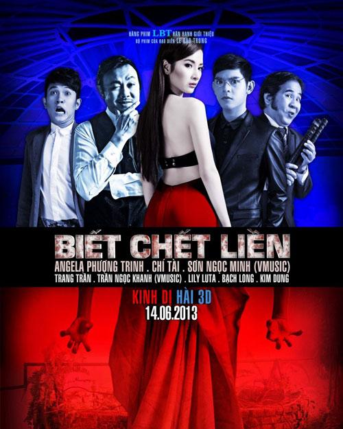Ngọc Minh ma mị với nhạc phim Biết chết liền, Ca nhạc - MTV, Vmusic, Son Ngoc Minh, Angela Phuong Trinh, biet chet lien, phim dien anh, nhac phim, di tim tinh yeu, ngoi sao, tin tuc