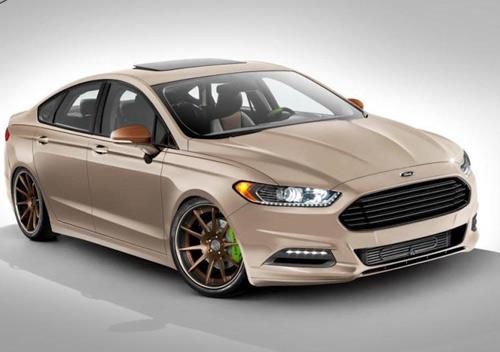Ford Fusion 2014 động cơ mới sắp ra mắt - 1